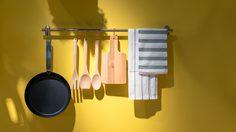 หมดปัญหาของรกกวนใจด้วยไอเดียเพิ่ม ที่แขวนของ ในครัว