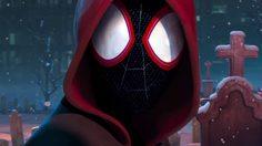 ไมล์ส โมราเลส ใส่ชุดสไปเดอร์แมนยิงใยไต่ตึก ในตัวอย่างแรก Spider-Man: Into the Spider-verse