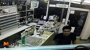 โจรแสบ! บุกปล้นร้านสะดวกซื้อ 2 แห่งในเมืองพัทยา