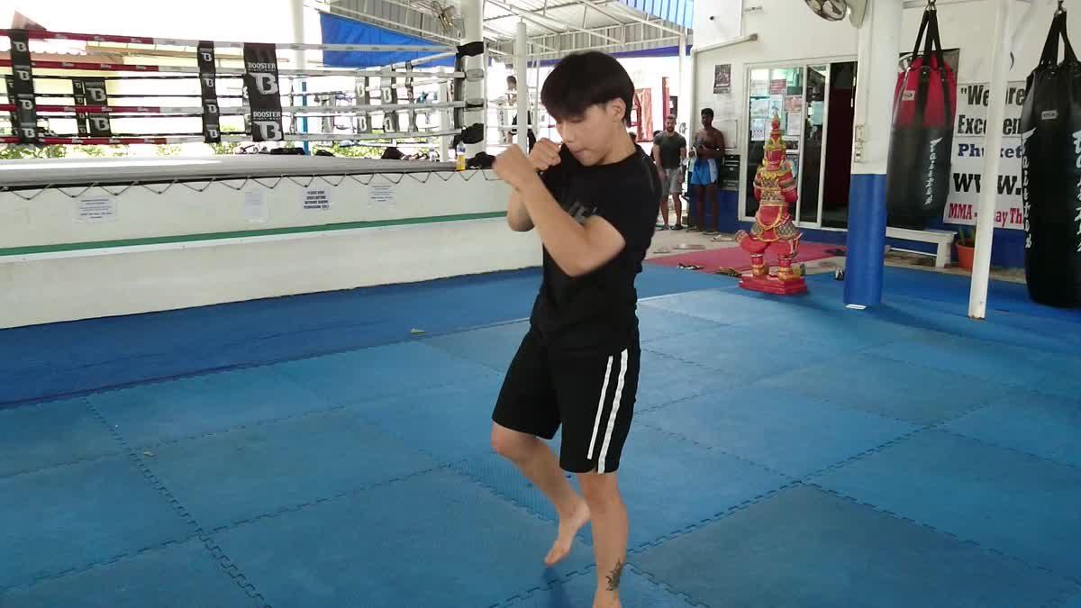 ซง จิ้ง หนาน โชว์ลีลาการต่อสู้