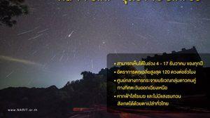 14-15 ธ.ค. นี้มาแน่ !! ฝนดาวตกเจมินิดส์ส่งท้ายปี 2560