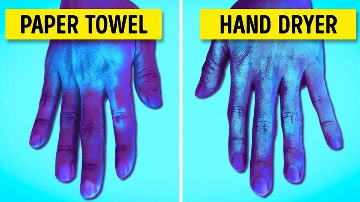 นักวิทยาศาสตร์ชี้!! เครื่องเป่าลมมืออันตรายกว่าที่คิด ทำให้เชื้อโรคแพร่กระจายมากยิ่งขึ้น