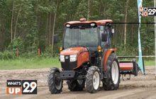 """คูโบต้า โชว์สมรรถนะ """"KUBOTA Agri Robo Tractor"""""""