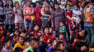 ชุมชนวัดมะกอกคึกคัก ไม่แพ้ที่อื่น เด็ก ๆ ลุ้นจักรยานตัวโก่ง ในวันเด็กแห่งชาติ