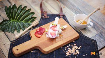 วิธีทำ ไอศครีมโยเกิร์ต ของหวานชื่นใจคลายร้อน