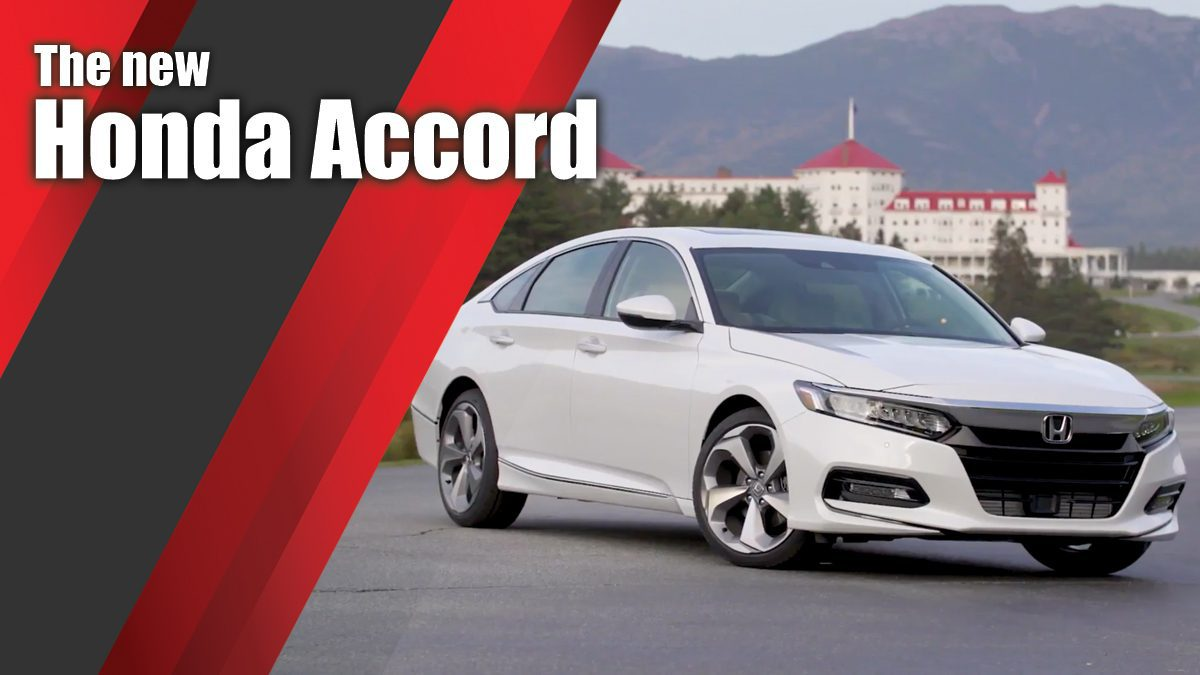 The new Honda Accord