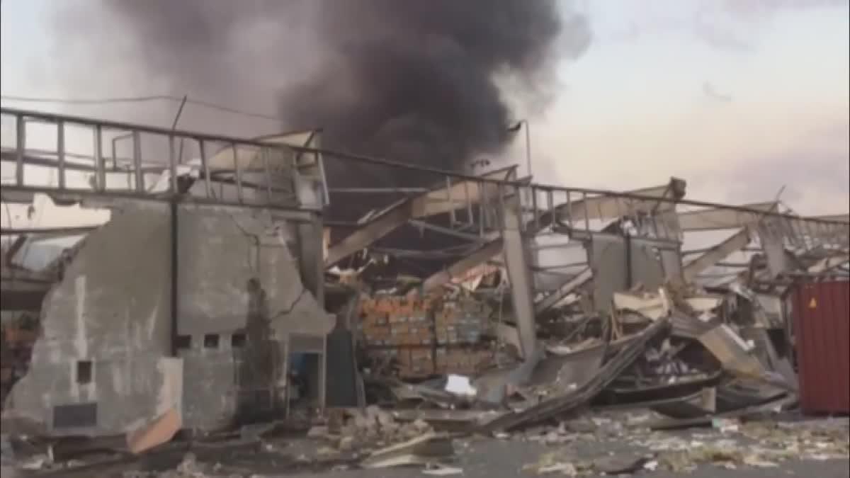 เหตุระเบิดในกรุงเบรุต ประเทศเลบานอน