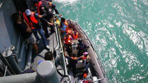 เจ้าหน้าที่จ.สงขลา ช่วย นทท.-ลูกเรือ 12คนปลอดภัย