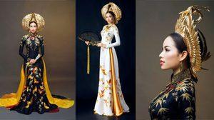 นางพญามาเอง! อ่าวหญ่าย ชุดประจำชาติ สวยสะพรึง ของ มิสยูนิเวิร์ส เวียดนาม