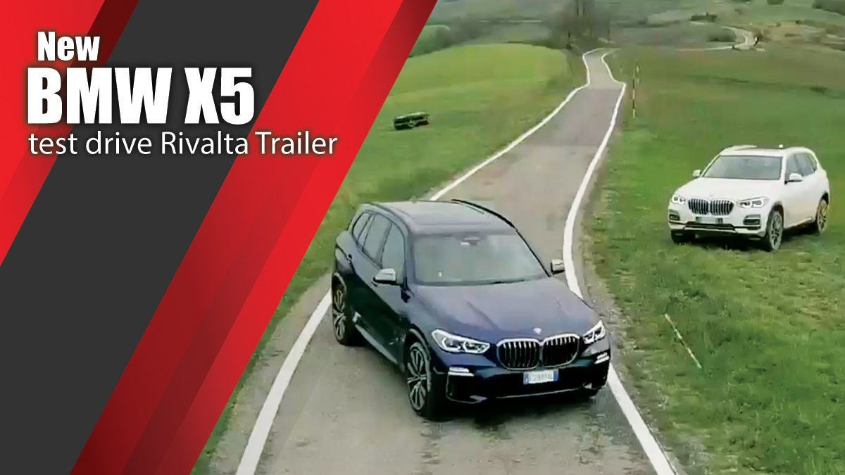 New BMW X5 test drive Rivalta Trailer