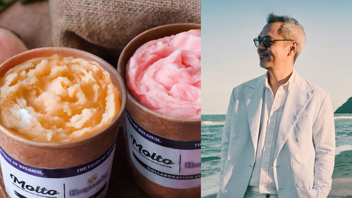 คุณจี๊บ เทพอาจ ประกาศจับมือ Molto นำเสนอไอศกรีมรสชาติพิเศษในธีม The Joyful Taste of Belgium