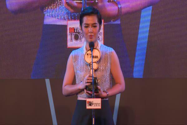 ประกาศรางวัล  The Most Top Talk-About TV Drama 2015