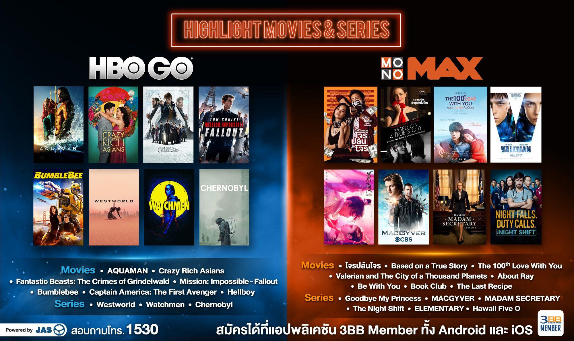 ห้ามพลาด!! หนังและซีรีส์ ฮิตๆ บน HBO GO และ MONOMAX นั่งดูกันยาวๆ ได้เลย เริ่ม 30 มี.ค. นี้