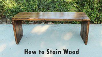 วิธีทาสีย้อมไม้ ด้วยตัวเองทำง่ายประหยัดงบ