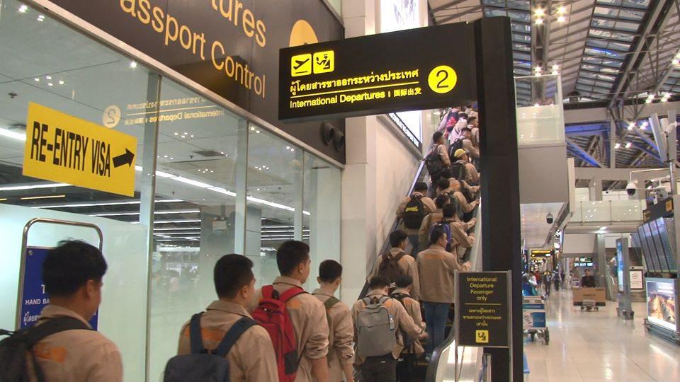กรมการจัดหางาน ตั้งเป้า!! ปี 63 ส่งแรงงานไทยไปทำงานต่างประเทศ 100,000 คน