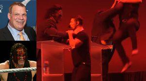 แฟนมวยปล้ำฟิน นายกเทศมนตรี Kane จัดท่าไม้ตาย โช้คสแลม ใส่ทีมงานตัวเองกลางที่ประชุมสัมมนา