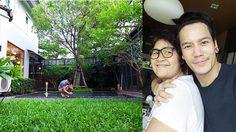 ส่องบ้านเดี่ยวสองชั้นพร้อมสวนสวยที่ อ๊อฟ ปองศักดิ์ ซื้อให้คุณแม่