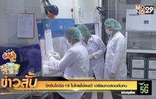 วัคซีนโควิด-19 ในไทยได้ผลดี เตรียมทดสอบกับคน