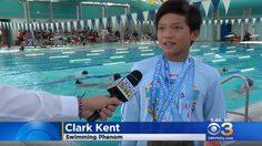 ซูเปอร์แมนจูเนียร์! 'คล้าร์ก เคนท์' ฉลามวัย 10 ขวบ ทำลายสถิติว่ายน้ำของ ไมเคิ่ล เฟลป์ส