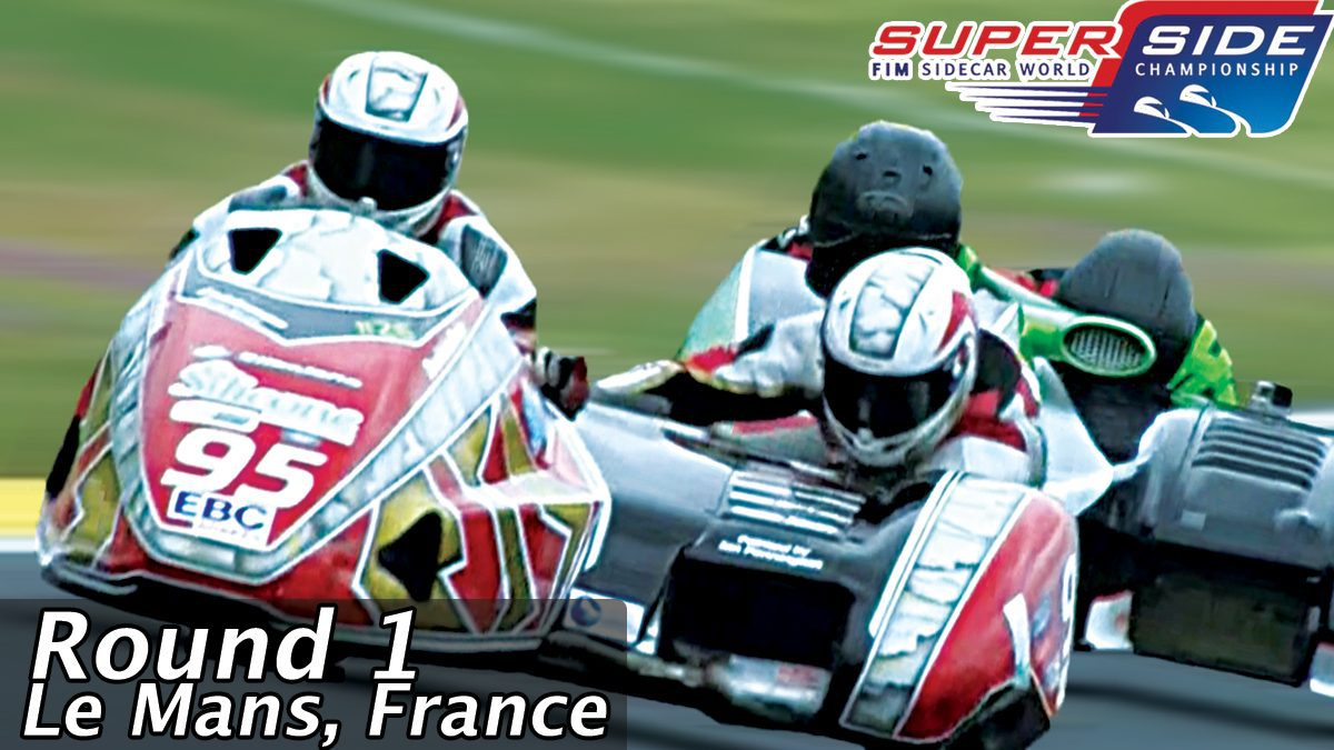 การแข่งขัน FIM Sidecar World Championship 2017 : รอบที่ 1 ณ ประเทศฝรั่งเศส