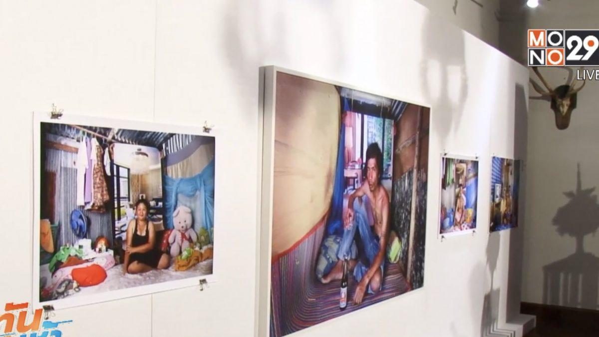แสดงผลงานศิลป์ หนุนฝีมือยุวศิลปินไทย