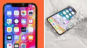 iPhone X ถูกทดสอบแล้วว่าเป็นสมาร์ทโฟนไม่อึด แต่ถึกที่สุด!!