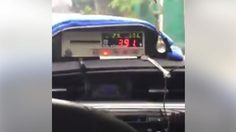 คลิปแฉ 'มิเตอร์แท็กซี่' ราคาพุ่งไวปานจรวด