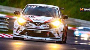 Toyota Gazoo Racing Team Thailand คว้าอันดับ 3 รายการ 24 ชม. ที่เยอรมนี
