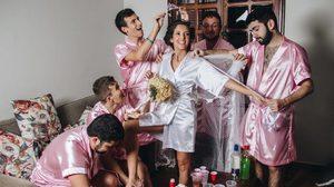 สาววิศวะ ชวนแก๊งเพื่อนชาย ถ่ายภาพแต่งงาน แบบสายฮา ไม่ง้อเพื่อนชะนีก็ด๊ะ