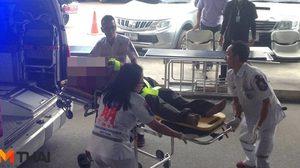 หนุ่มเมาควงมีดหวังไปฟันคู่อริ สุดท้ายซมซานกลับมาบ้านในสภาพถูกยิง