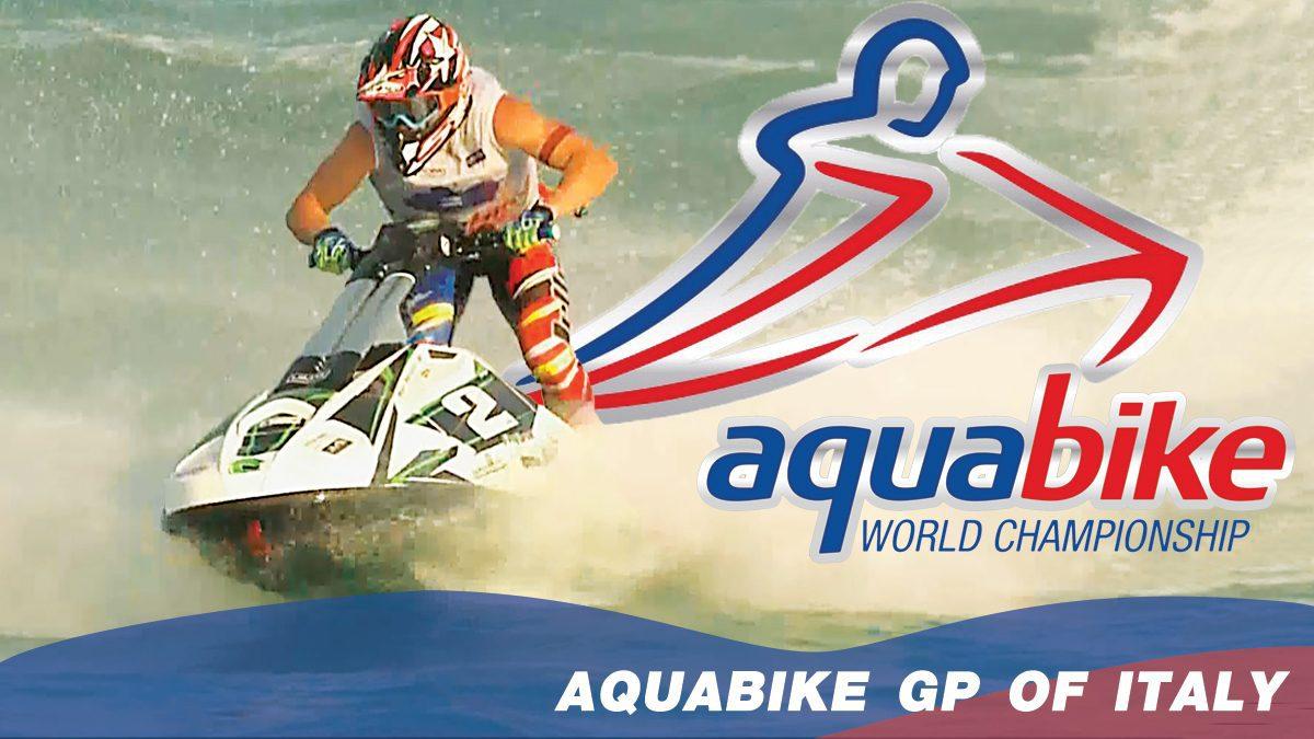 การแข่งขัน H2O Aquabike World Championship Season 17 | แข่งขันเจ็ทสกี ณ เมือง ปอร์โต เชซาริโอ ประเทศอิตาลี GP1