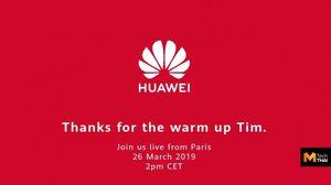 หยอกแรง!! Huawei ขอบคุณ Apple สำหรับการอุ่นเครื่องในงานเมื่อคืนนี้