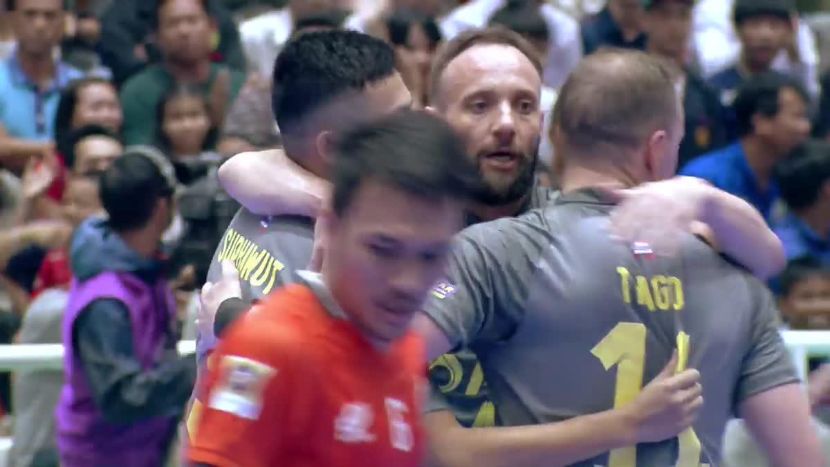 ไฮไลท์ เอเอฟเอฟ ฟุตซอล คัพ 2019 พีทีที บลูเวฟ ชลบุรี 5-5 แบล็คสตีล