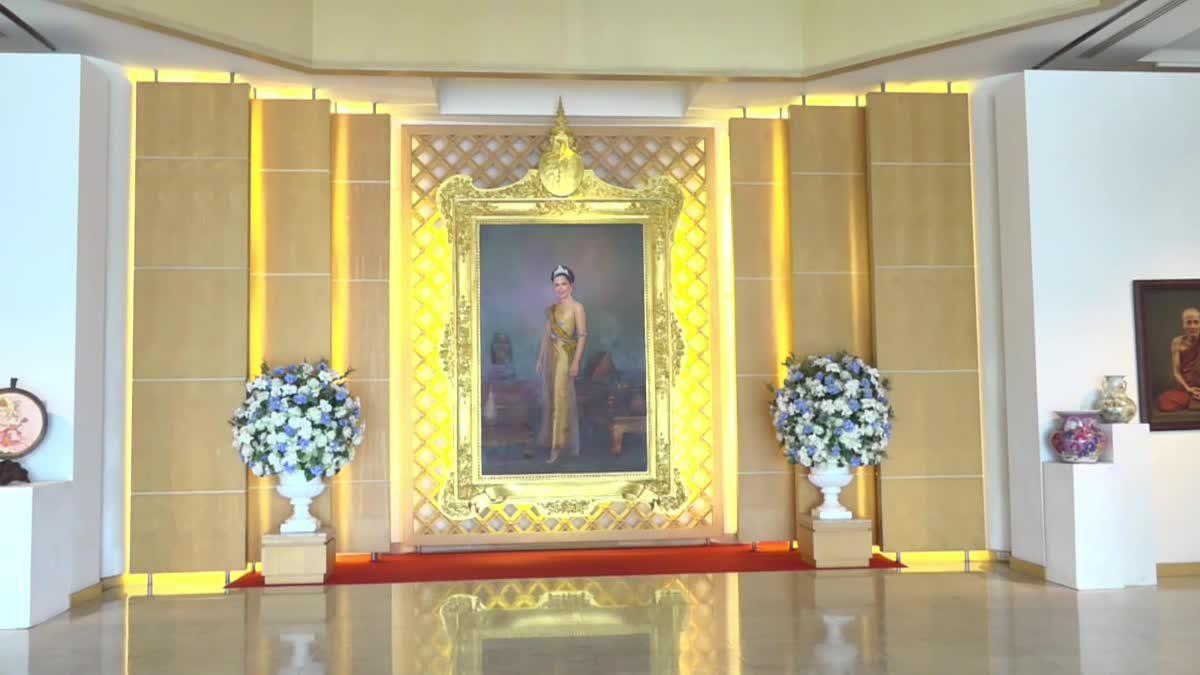 """นิทรรศการ """"ศิลปกรรมเทิดพระเกียรติสมเด็จพระนางเจ้าสิริกิติ์ พระบรมราชินีนาถ พระบรมราชชนนีพันปีหลวง"""" ครั้งที่ 23"""