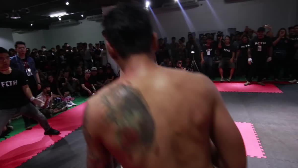 Fight Club Thailand 2017 ซาน พระราม3 x โน ปีเย้ คู่ที่ 211