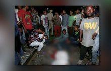 รถไฟพุ่งชนฝูงชนในอินเดีย-เสียชีวิตจำนวนมาก