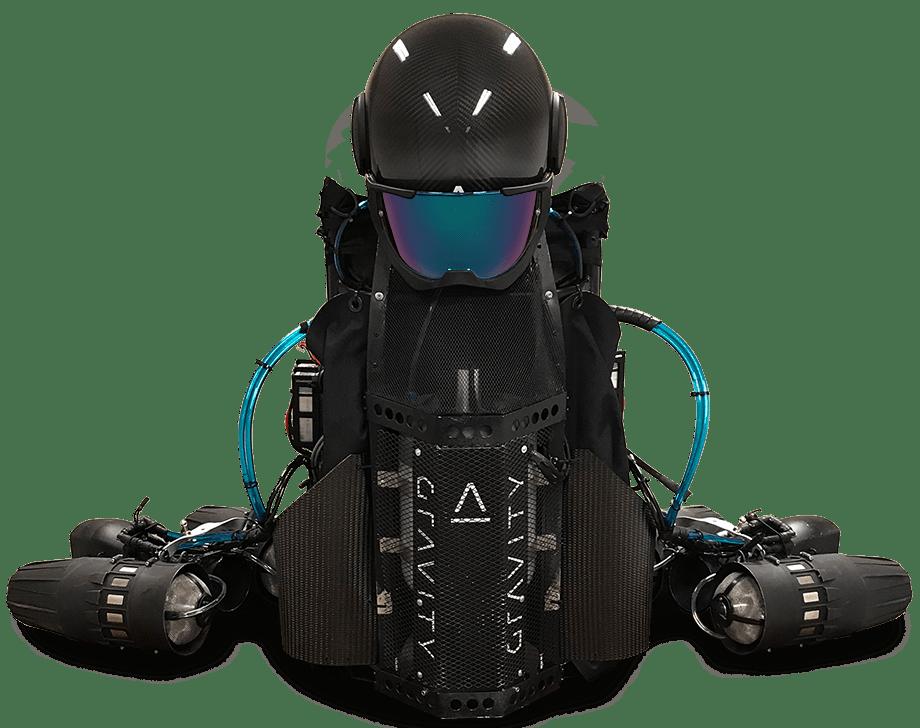 Jet Suit ของ Gravity