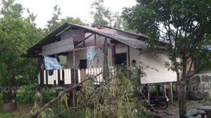 พายุฤดูร้อนพัดถล่ม 3 อำเภอ ในกำแพงเพชร บ้านพังกว่า 179 หลัง