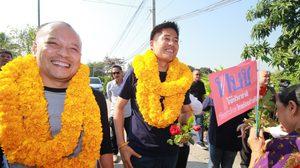 ปรีชาพล ลงพื้นที่นครปฐม ชวนคนเลือกพรรคไทยรักษาชาติ โค่นเผด็จการ