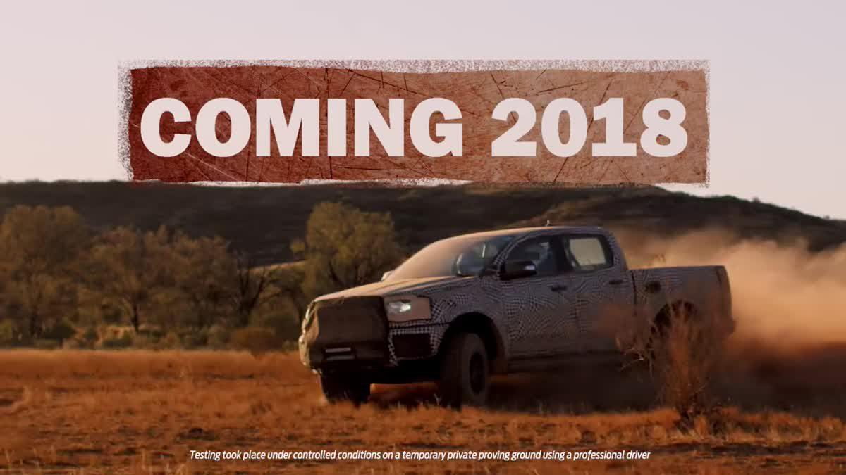 """ฟอร์ด เผยโฉมรถรุ่นใหม่ """"Ford Ranger Raptor"""" ครั้งแรก"""