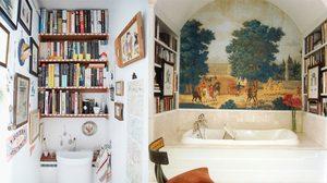 อ่านง่ายถ่ายคล่อง 10 ไอเดียแต่งห้องน้ำ ฉบับเอาใจหนอนหนังสือ