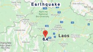 เผยความเสียหายในไทยหลังเกิดเหตุแผ่นดินไหวจาก สปป.ลาว