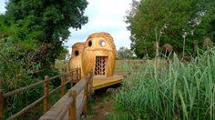 บ้านนกฮูก บ้านพักตากอากาศ 3 ชั้น ไอเดียดีไซน์เก๋ๆ จากสัตว์ในท้องถิ่น !