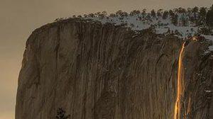 มหัศจรรย์ น้ำตกเพลิง อุทยานแห่งชาติ Yosemite สหรัฐอเมริกา