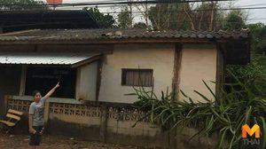 พายุฤดูร้อนถล่มพะเยา!! บ้านเรือนประชาชนพังเสียหายกว่า 50 หลัง