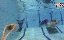 ฟินแลนด์เปิดสอนว่ายน้ำหลักสูตรนางเงือก