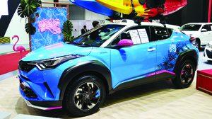 Toyata ยกทัพตัวแต่ง TRD อวดโฉมที่งาน Auto Salon 2018