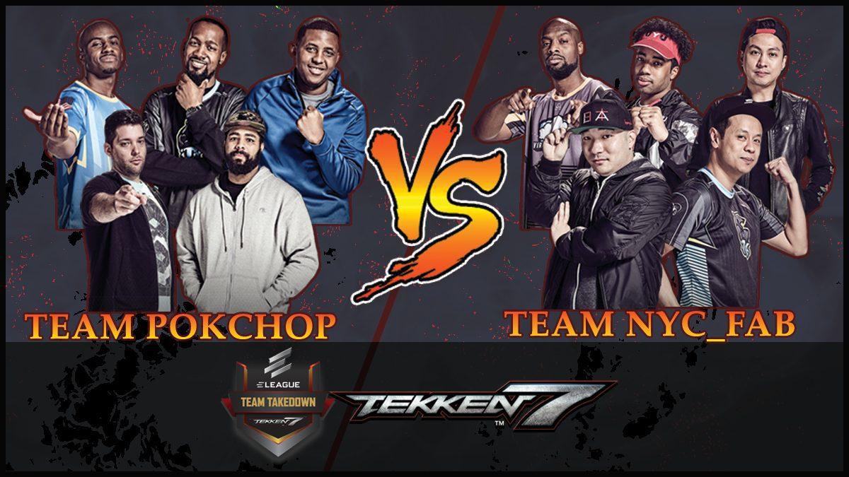 การแข่งขัน Tekken Team Takedown | ระหว่าง ทีม POKCHOP vs ทีม NYC_FAB