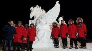 แชมป์ 9 สมัยติด! อาชีวะอุบลราชธานีชนะเลิศงานแกะสลักน้ำแข็งโลก 2018