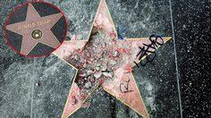 ใครๆ ก็ไม่รักผม!! ชื่อของ โดนัลด์ ทรัมป์ บน Walk Of Fame ในฮอลลีวูดโดนถอดออกแล้ว